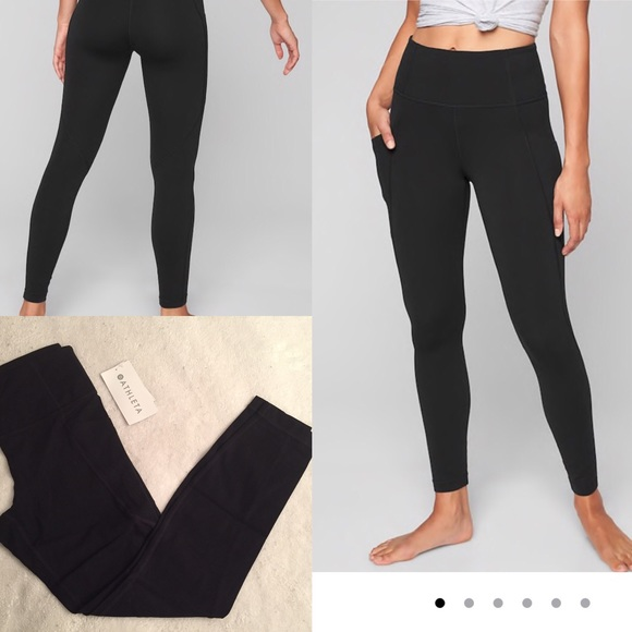 3ad3e69611 Athleta Pants | Stash Pocket Salutation Tight | Poshmark
